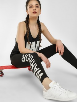 K ACTIVE KOOVS Warrior Side Print Leggings