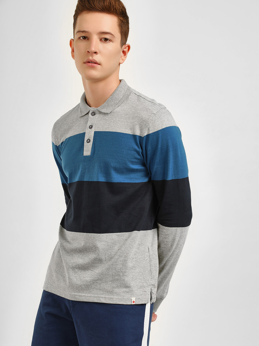 Celio Multi Colour Block T-Shirt 1