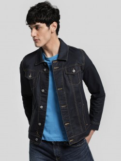 Blue Saint Dark Wash Denim Jacket