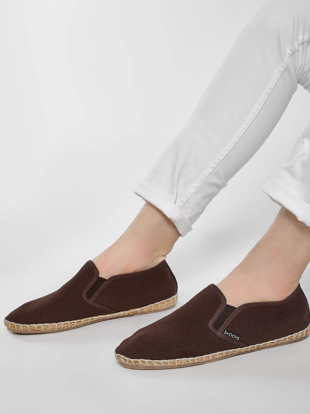 KOOVS Brown Basic Slip-On Espadrilles 1