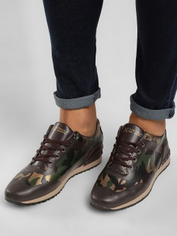 Tiktauli Rodeo Camo Panel Sneakers