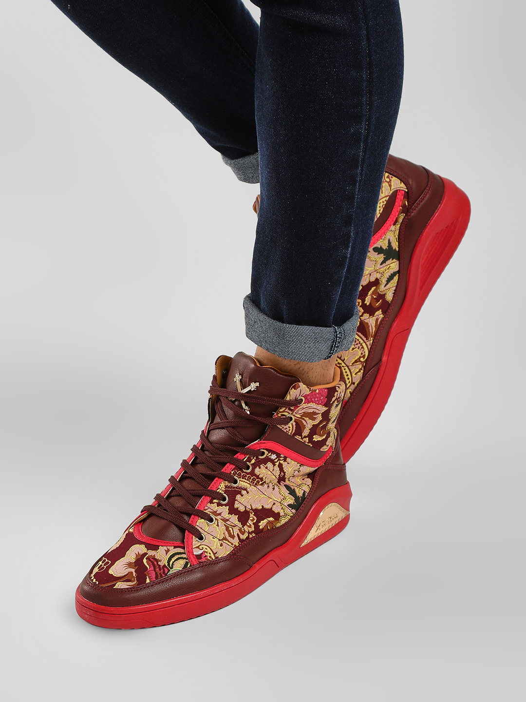 Tiktauli Red Vermont High Ankle Shoes 1