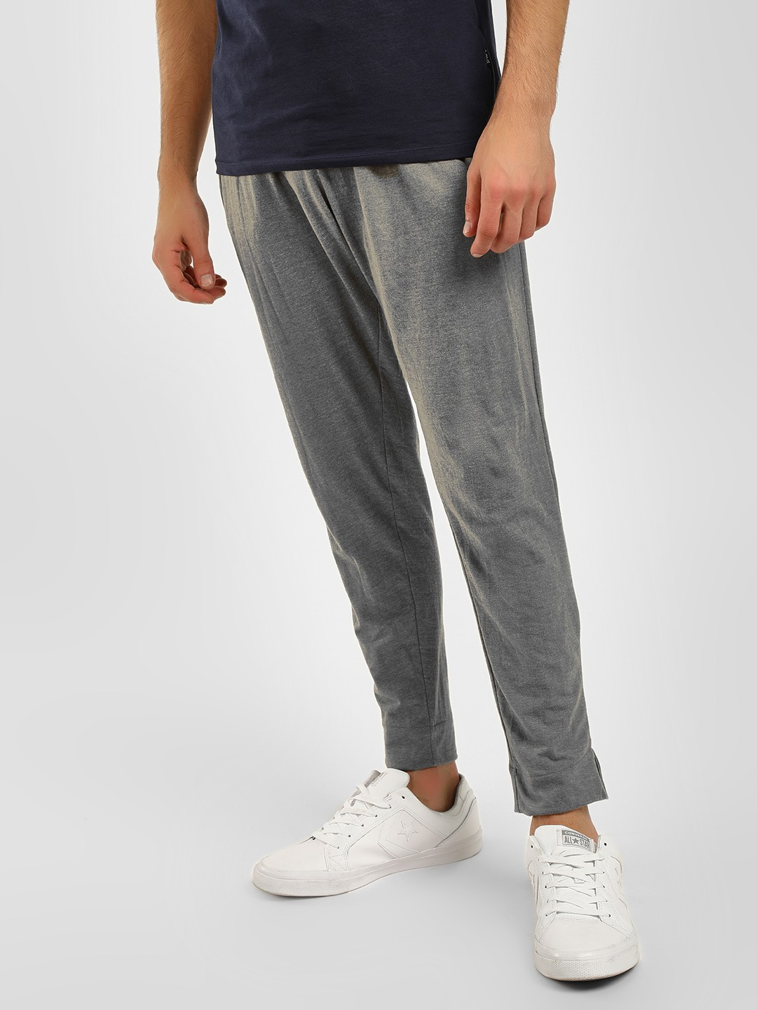 Fighting Fame Grey Basic Slim Fit Joggers 1