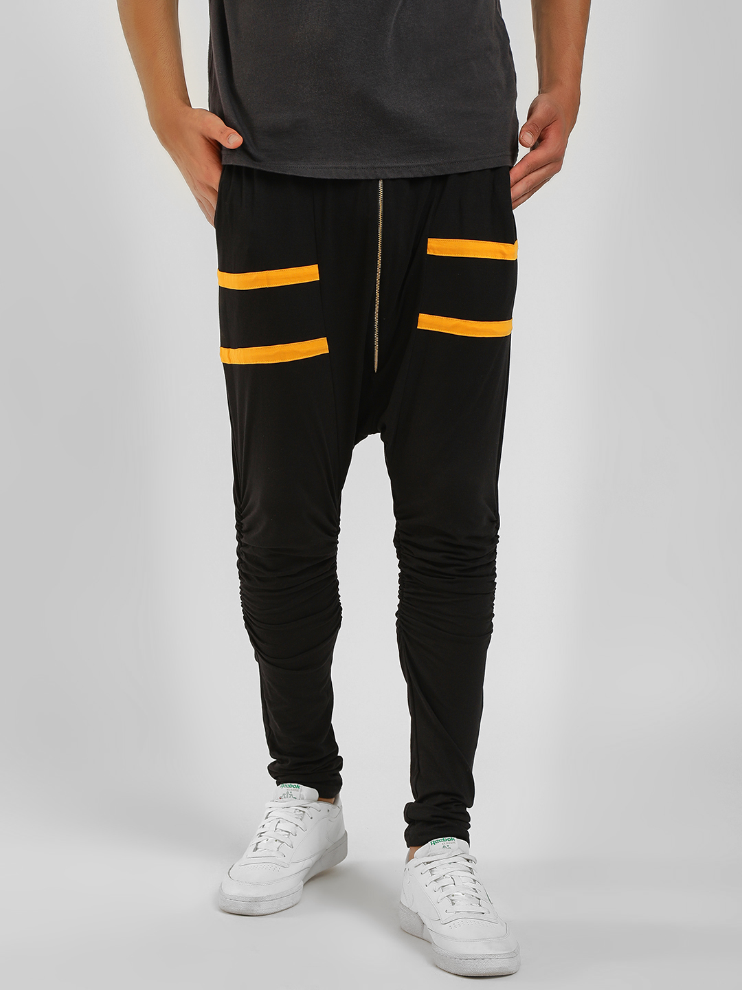 Fighting Fame Black Street X Drop Crotch Joggers 1