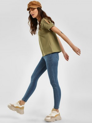 K DENIM KOOVS Basic Skinny Fit...