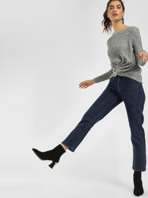 K DENIM KOOVS Basic Cropped St...