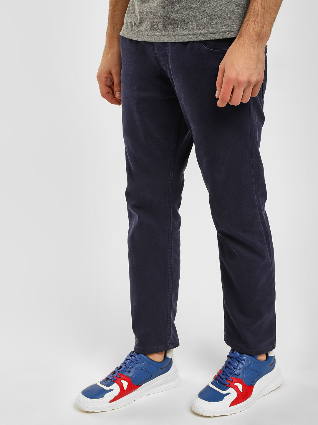Blue Saint Blue Washed Slim Fit Joggers 1