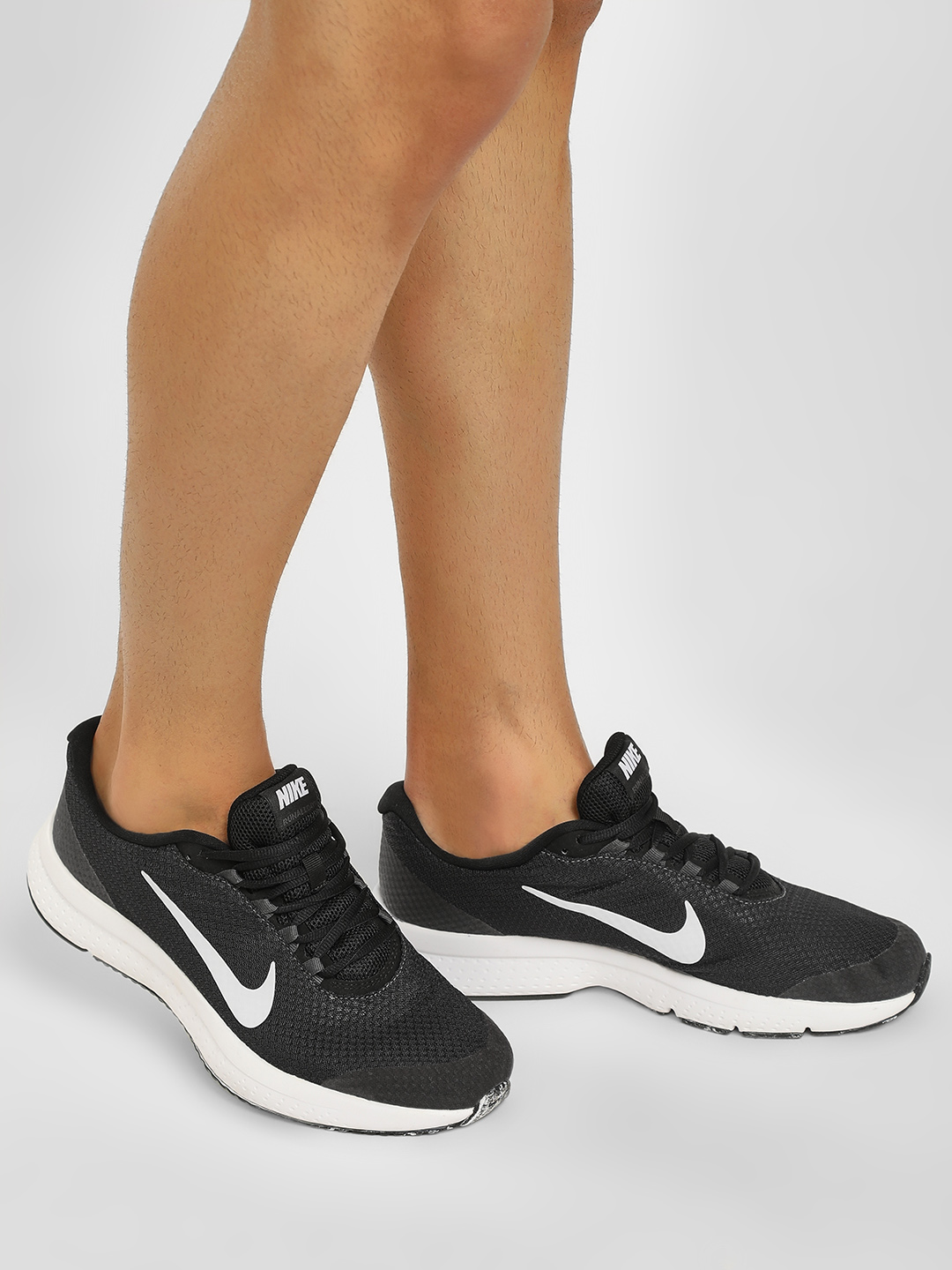 Nike Black Run All Day Shoes 1