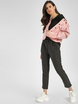 Cover Story Stripped Casual Trouser