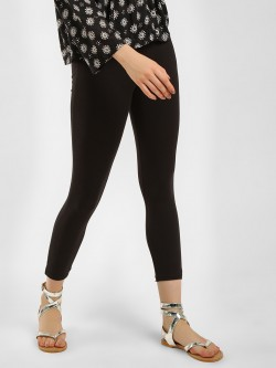 KOOVS Ankle Grazer Cropped Leggings