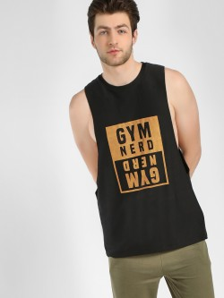 K ACTIVE KOOVS Foil Text Placement Print Tank