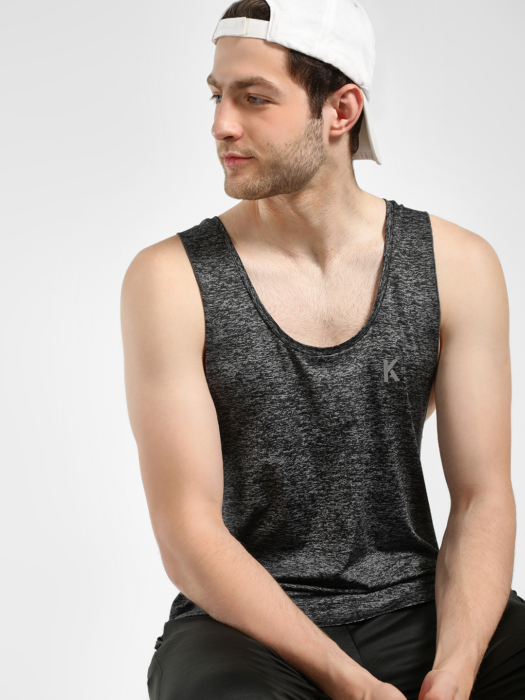 K ACTIVE KOOVS Scoop Neck Race...