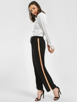 KOOVS Side Tape Trousers