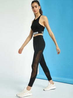 K ACTIVE KOOVS Side Mesh Panel Leggings