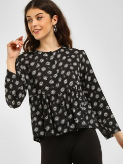 KOOVS Monochrome Tunic Top