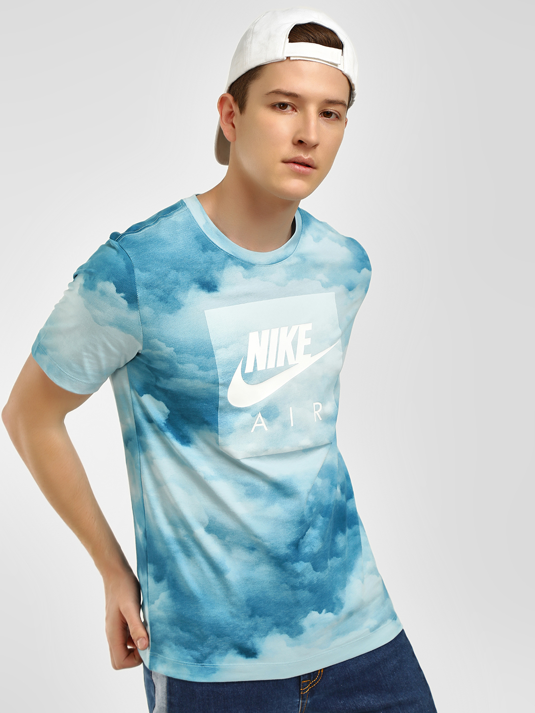Nike Blue Sportswear Control Air 3 T-Shirt 1