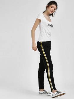 Glamorous Side Stripe Slim Track Pants