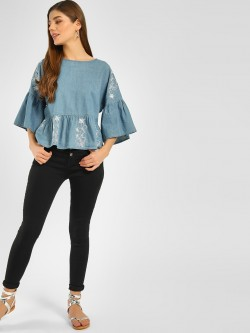 Cover Story High Rise Skinny Jeans