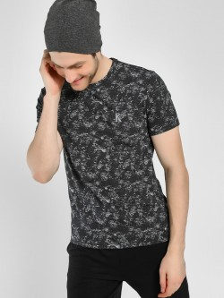 K ACTIVE Space Dyed Mesh T-Shirt
