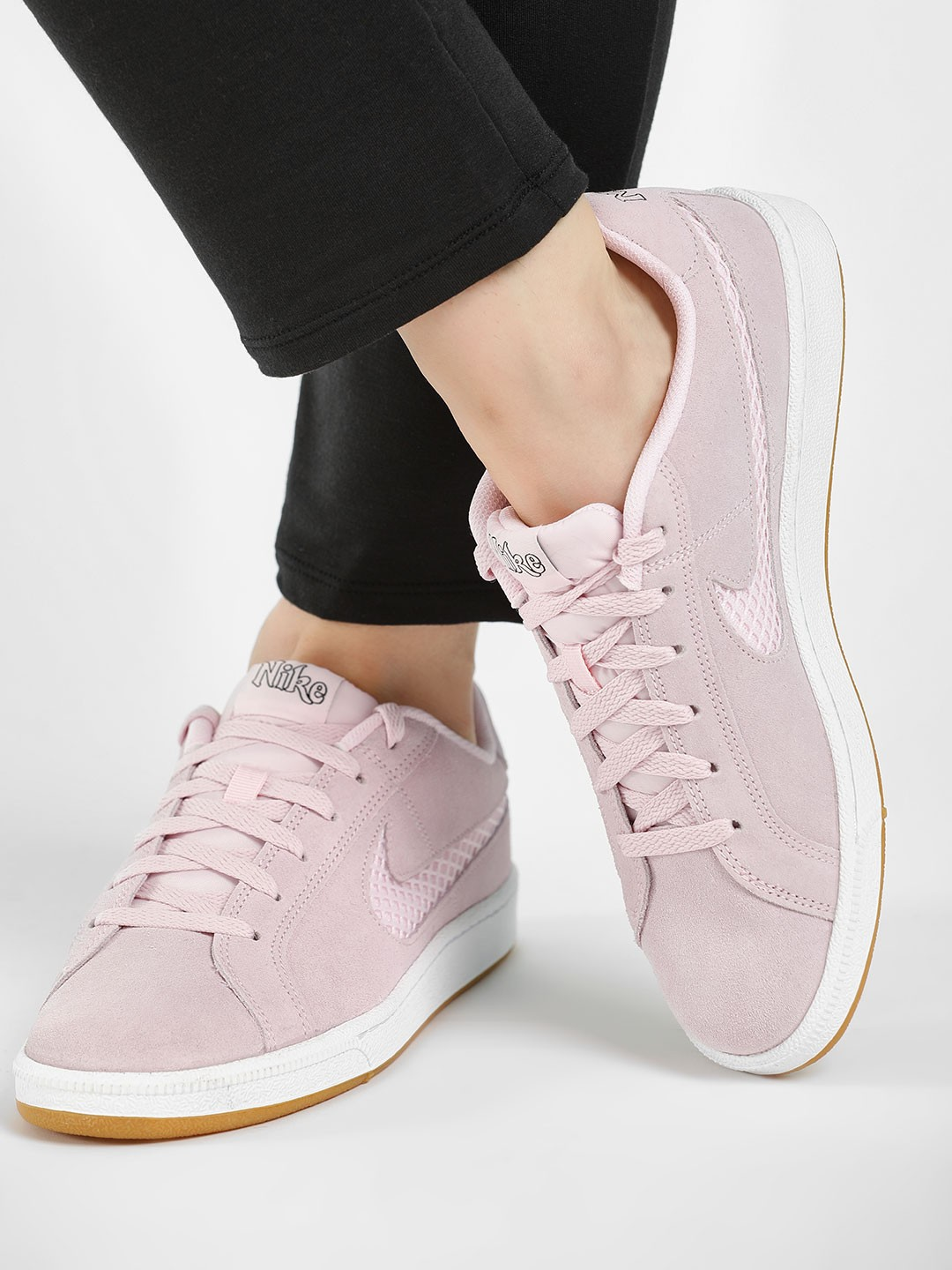 Nike Pink Court Royale Premium Shoes 1
