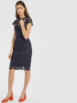 Quiz Crochet Lace Bodycon Dress