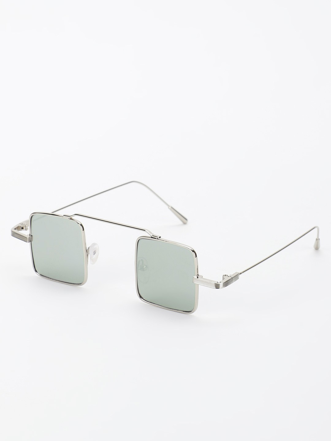 Style Fiesta Grey Square Tinted Lens Retro Sunglasses 1