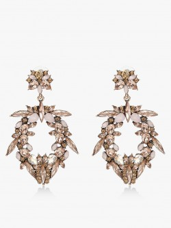 Style Fiesta Embellished Crystal Earrings