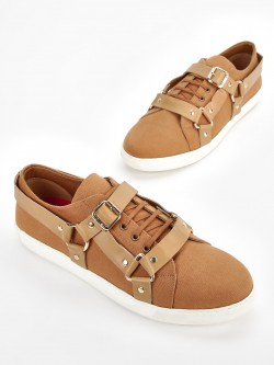 KOOVS Pin And Buckle Detail Sneakers