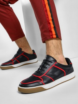 KOOVS Contrast Panel Sneakers