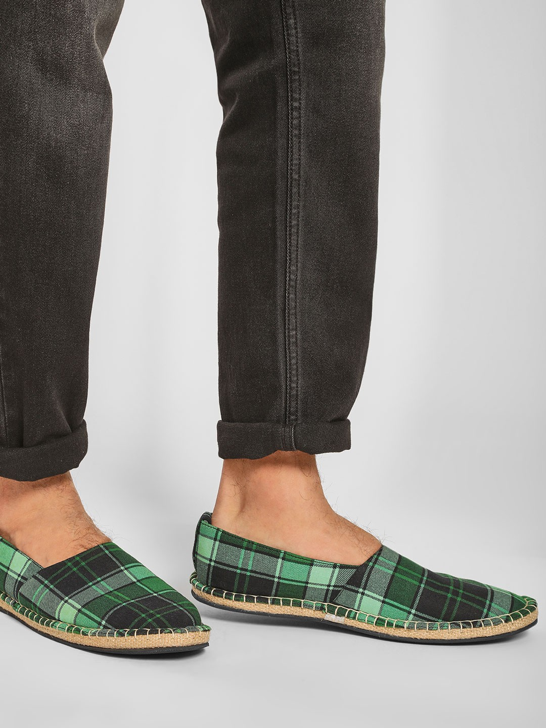 Bolt Of The Good Stuff Multi Casual Check Espadrilles 1