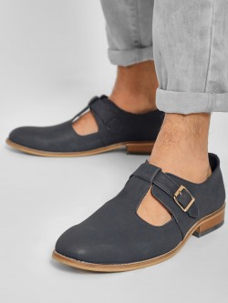 Rodolfo Darrell Cut-Out Buckle Detail Loafers