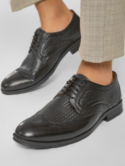 Rodolfo Darrell Weaved Brogue Derby Shoes