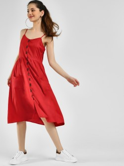 Femella Button Down Midi Dress