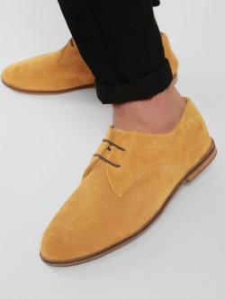Marcello & Ferri Suede Leather Derby Shoes