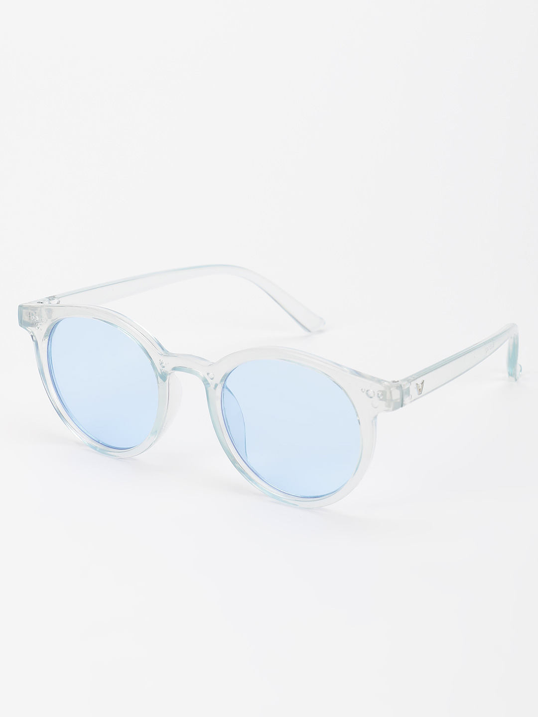 Pataaka Blue Tinted Lens Round Sunglasses 1
