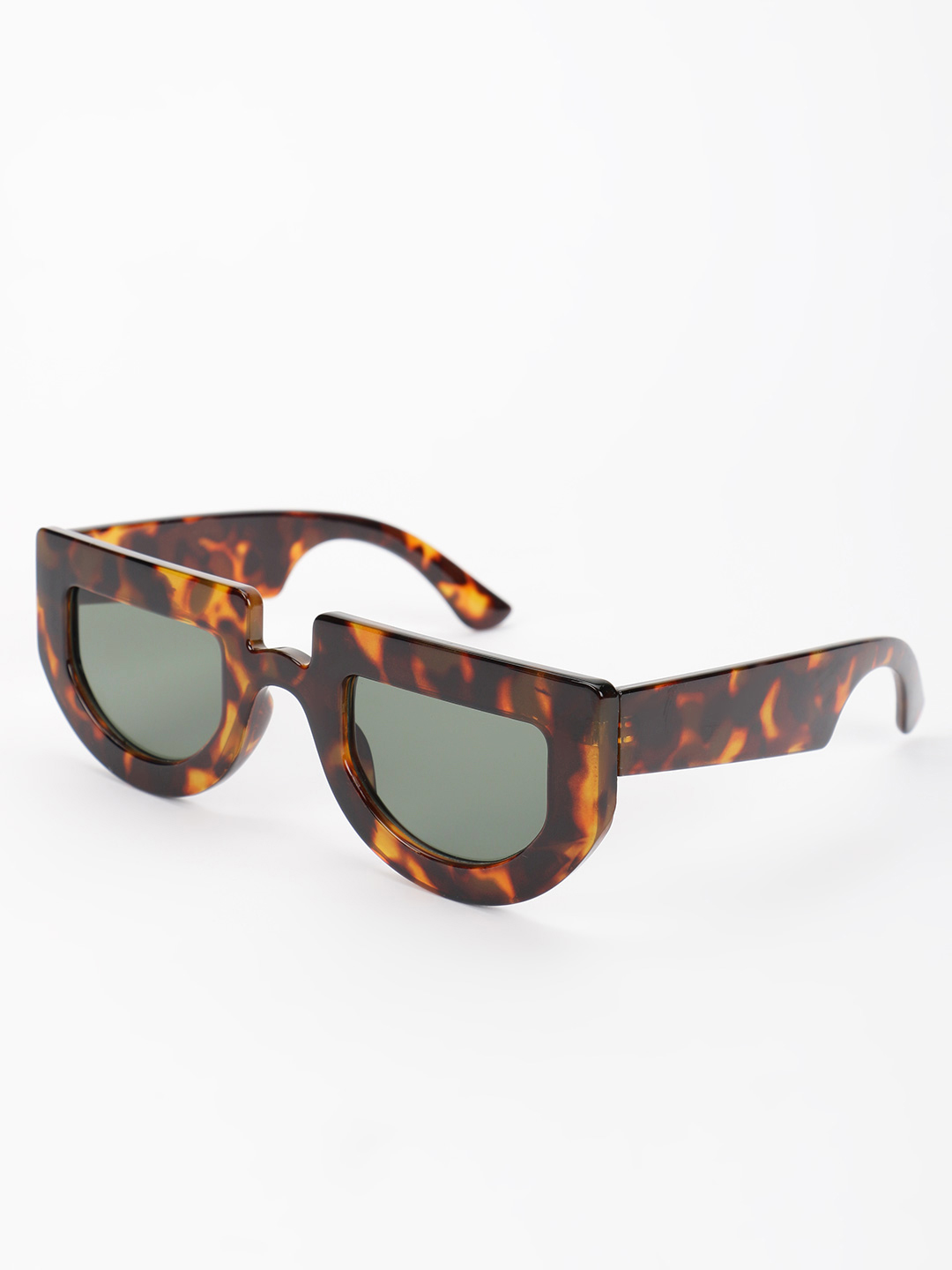 Pataaka Brown Tortoise Shell Retro Sunglasses 1
