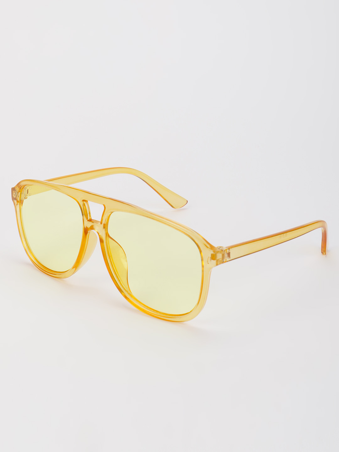 Pataaka Yellow Coloured Tinted Lens Pilot Sunglasses 1