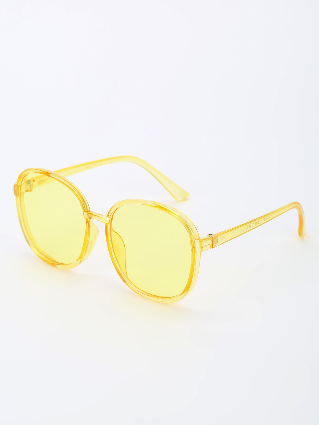 Pataaka Yellow Tinted Lens Retro Sunglasses 1