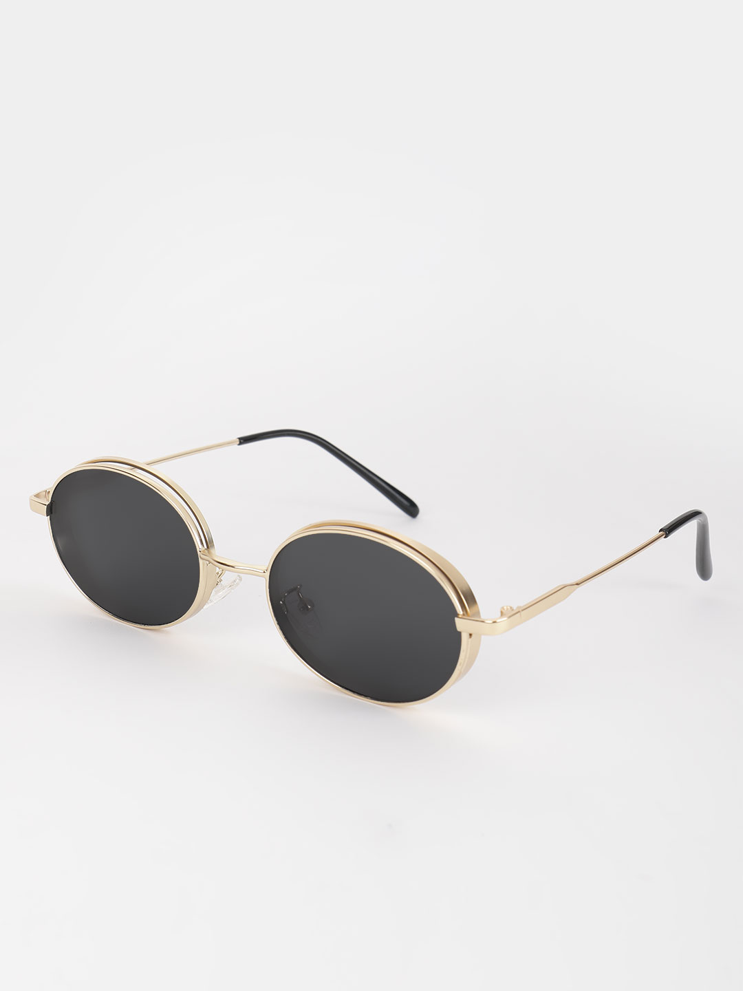Pataaka Black Coloured Lens Retro Sunglasses 1