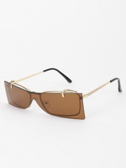 Pataaka Adjustable Frame Square Sunglasses