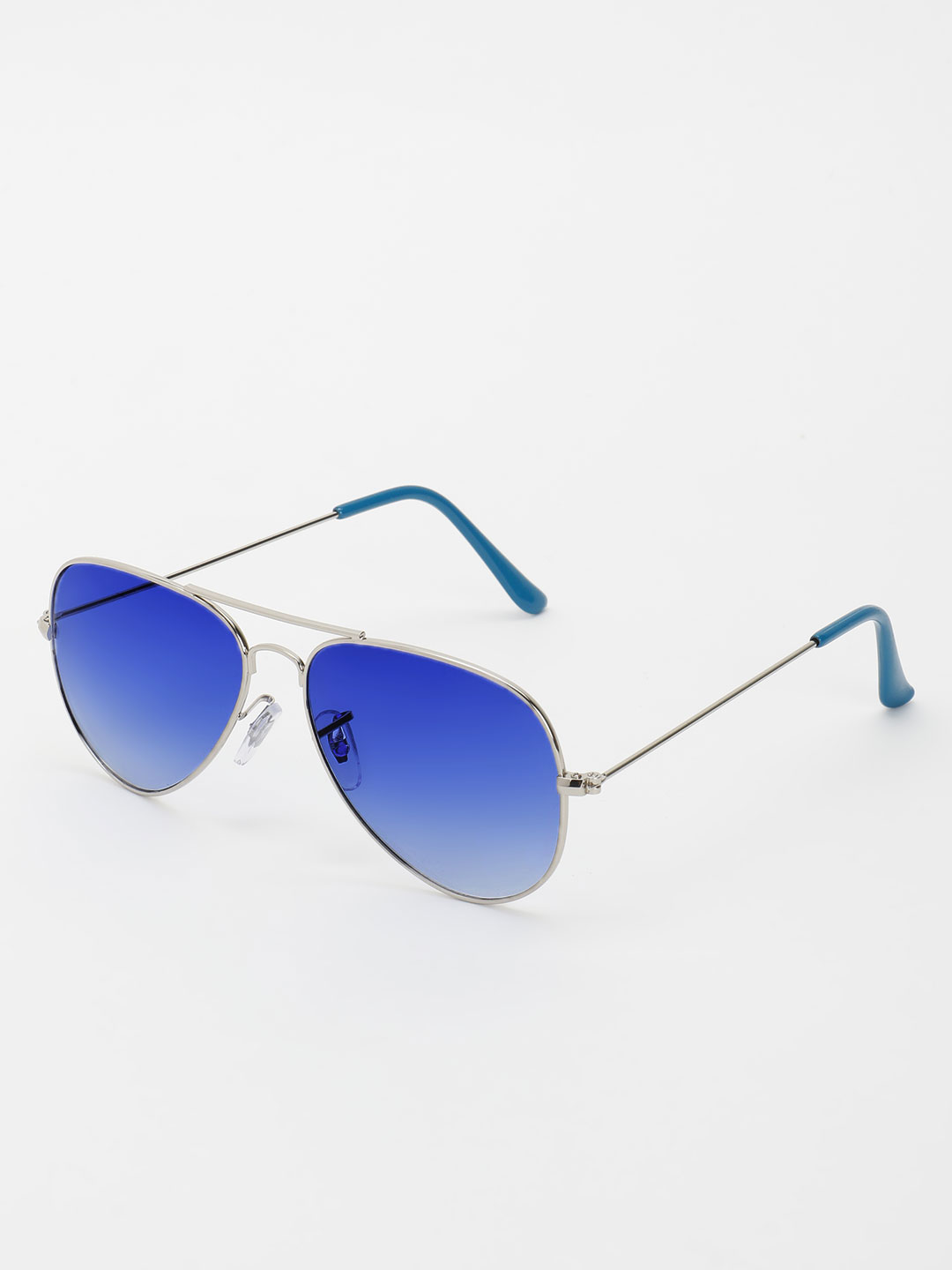 KOOVS Blue Pilot Sunglasses 1