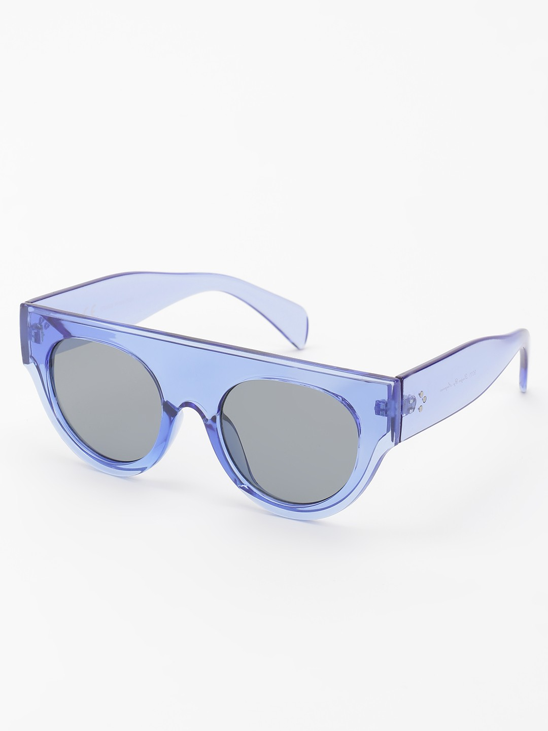 KOOVS Blue Tinted Lens Retro Sunglasses 1