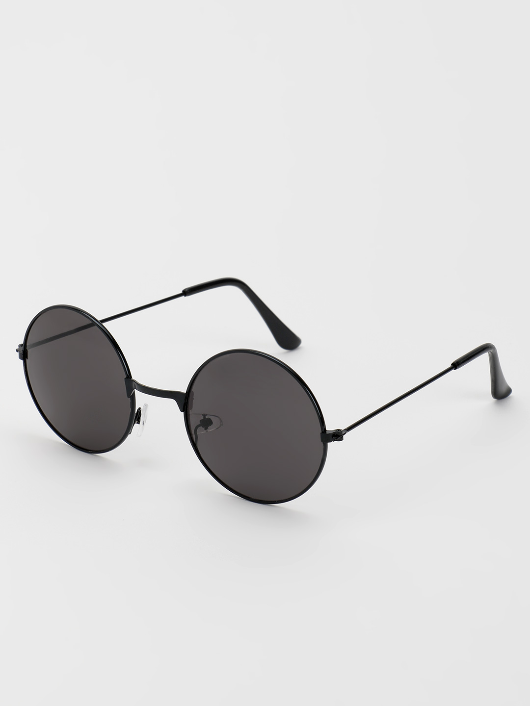 KOOVS Black Tinted Round Lens Sunglasses 1