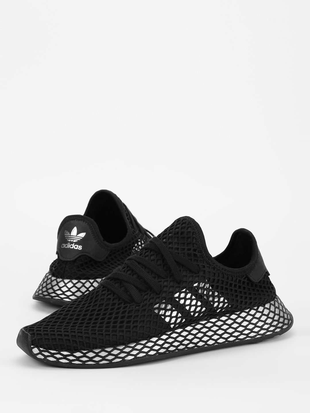 Adidas Originals Black Deerupt Runner Shoes 1
