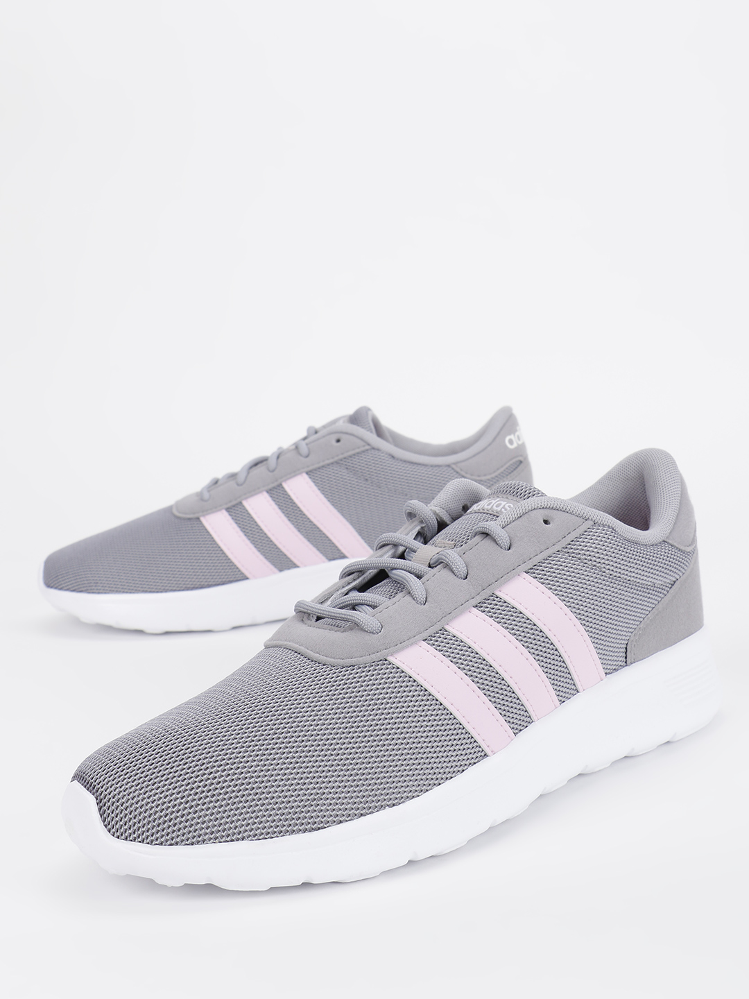 Adidas Grey Lite Racer Shoes 1