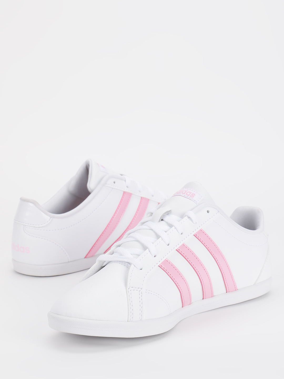 Adidas White Coneo Qt Shoes 1