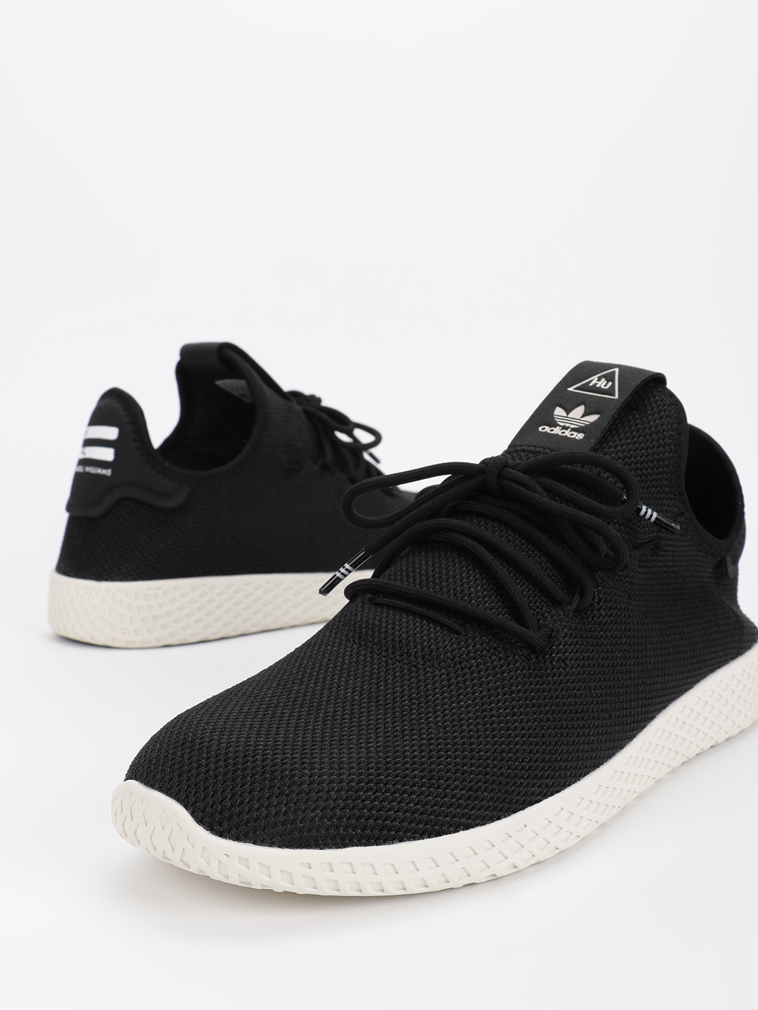 Adidas Originals Black Pharrell Williams Tennis HU Shoes 1