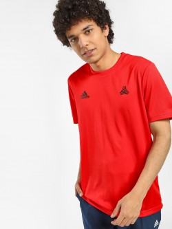Adidas Tan Training T-Shirt