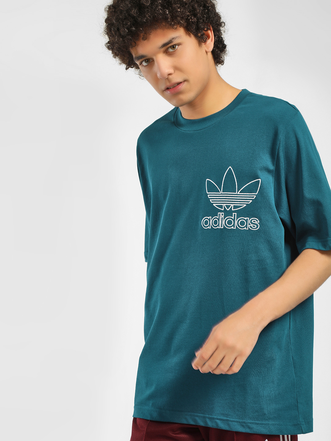 Adidas Originals Blue Outline T-Shirt 1
