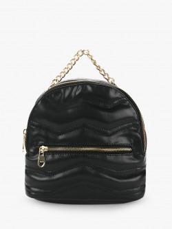 Paris Belle Zigzag Embossed Backpack